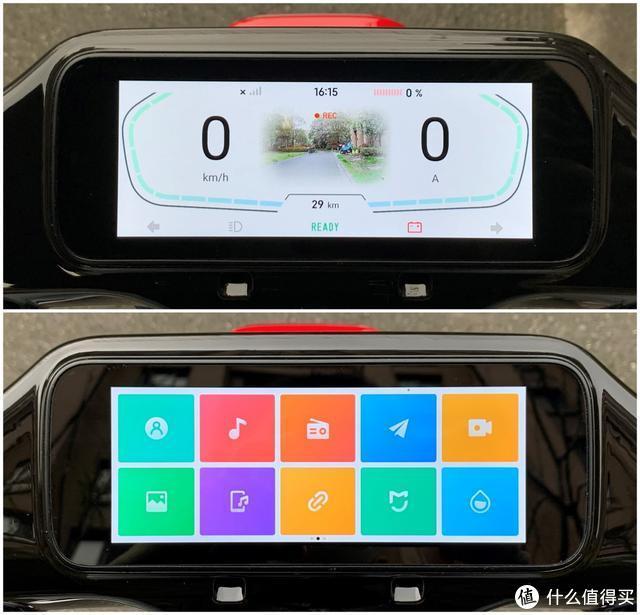 70迈智能电动车非同一般,续航70公里,智能控制,6.8英寸大屏