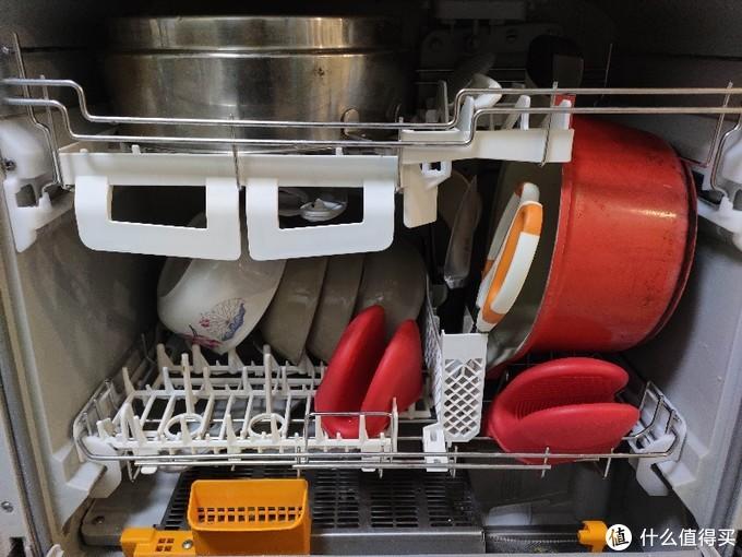 看我能不能装!台式6套洗碗机实测~图片告诉你答案