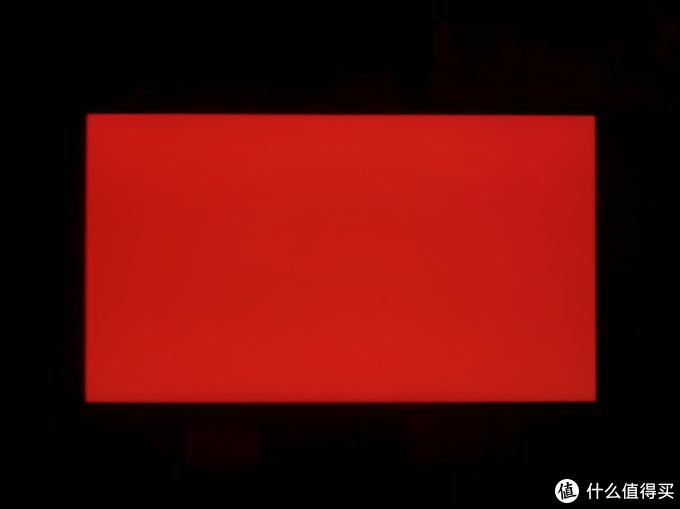 夜晚全黑状态测试-红色