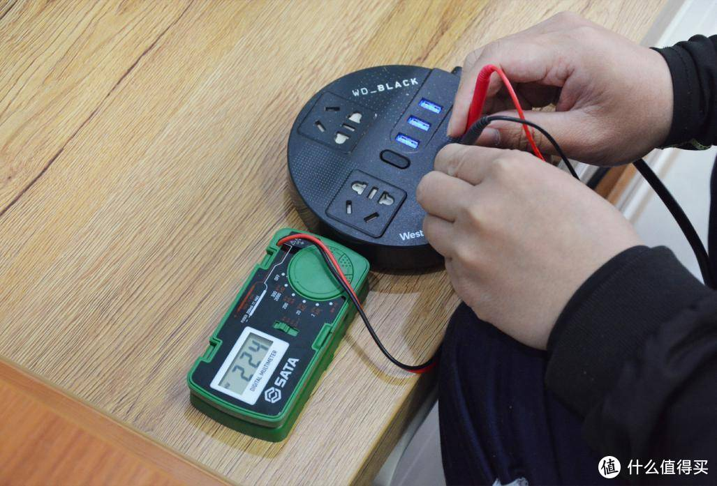 满足各种家用电压、电流的测量,世达口袋式数字万用表上手体验