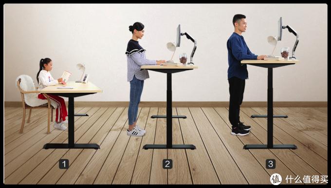 三种人都适合的桌子