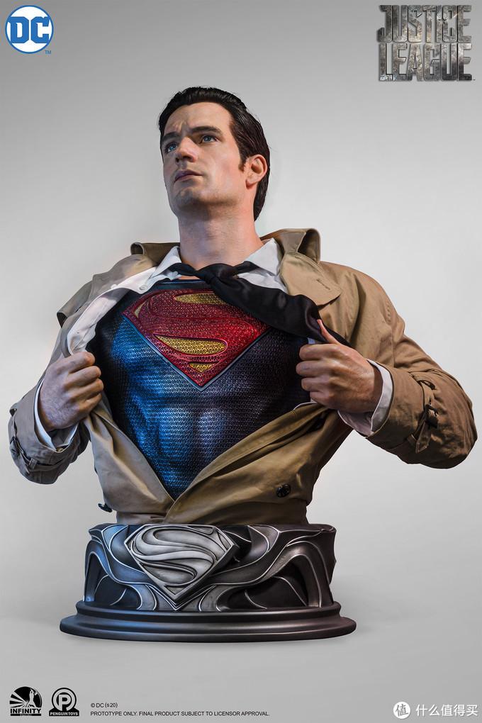 玩模总动员:开天工作室1/1超人硅胶半身像,今晚8点正式开订