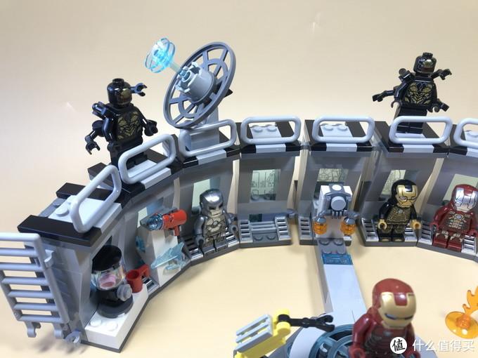 钢铁侠就值回票价:76125 钢铁侠机甲陈列室
