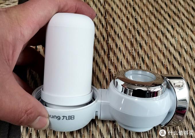 不用电成本低能用两年,厨房净水最简方案,九阳可视化龙头净水机