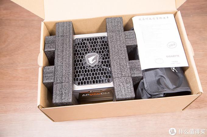 高端DIY平台信仰:技嘉AORUS金雕AP850GM 850W全模块电源开箱体验