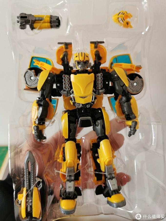 变形金刚把玩第十三弹—MPM07大黄蜂