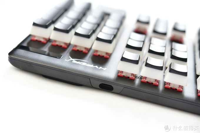 阿洛伊起源104键红轴机械键盘上手体验