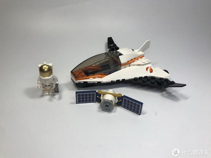 第一篇文章献给乐高:乐高城市组60224太空卫星任务