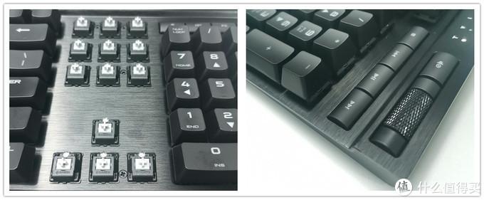 知名灯厂值得买吗?美商海盗船K70 LUX樱桃银轴键盘开箱
