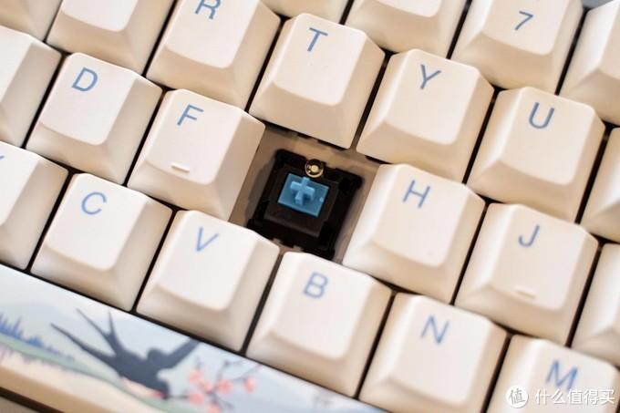 天青色等烟雨 而我在等你 - 机械键盘中国风:达尔优 A87「归燕」