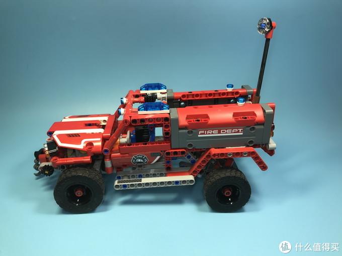 好玩的乐高 Technic 机械组 42075 紧急救援车
