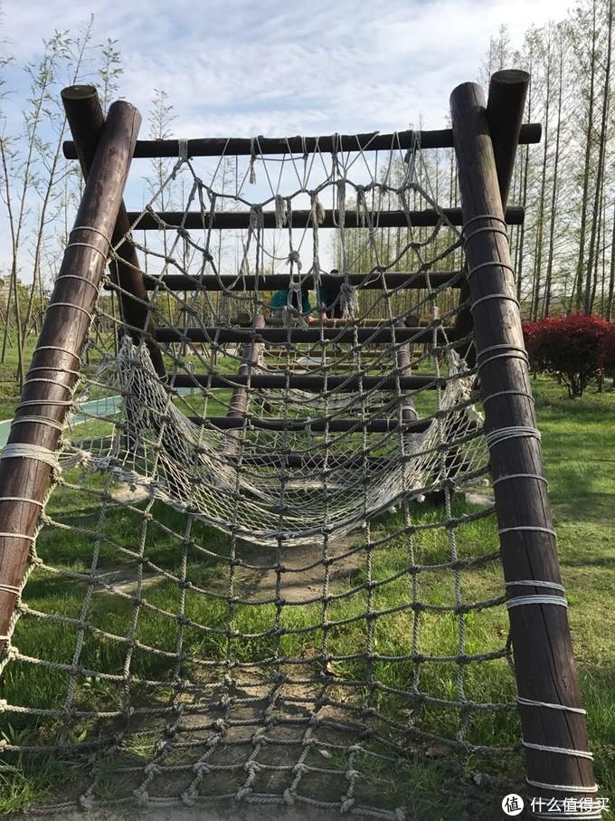 这个网需要更换了,不能爬,上面的木头坏了,容易伤到命根子!