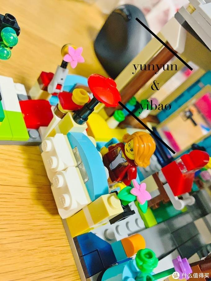 乐高创意百变三合一31105城镇玩具店