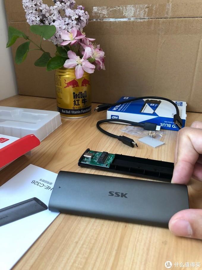 简简单单WinToGo之替换下来的M.2硬盘该干点啥?ssk m.2