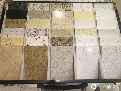 各种式样的石英石