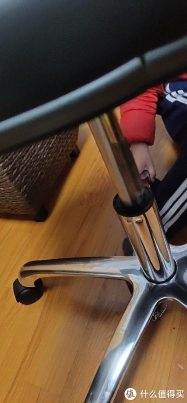 防静电可升降椅子座椅PU皮革靠背升降椅办公工作学生职员椅实验室椅