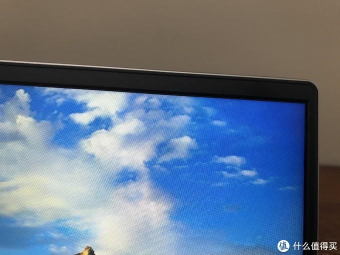 屏幕上边框
