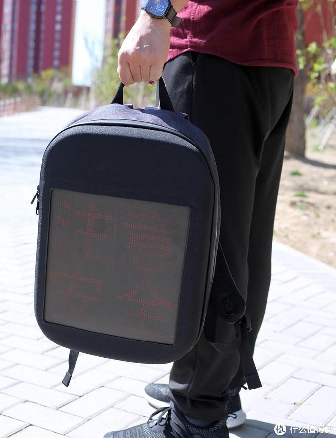 回头率百分百的研色LED动感背包,轻松成为最靓的仔
