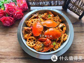 超级过瘾肉蟹煲,香辣美味,好吃到爆