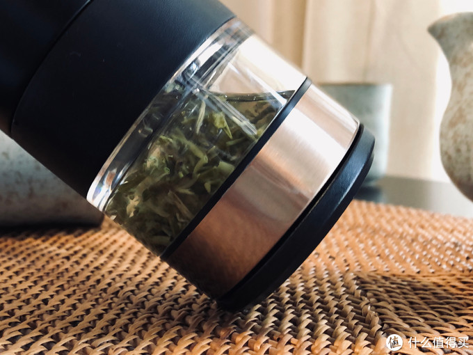 饮茶的仪式感,银茶隔,茶水分离保温杯