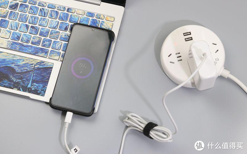 国产PD充电器,60W输出,支持多种快充协议,手机、笔记本电脑通用