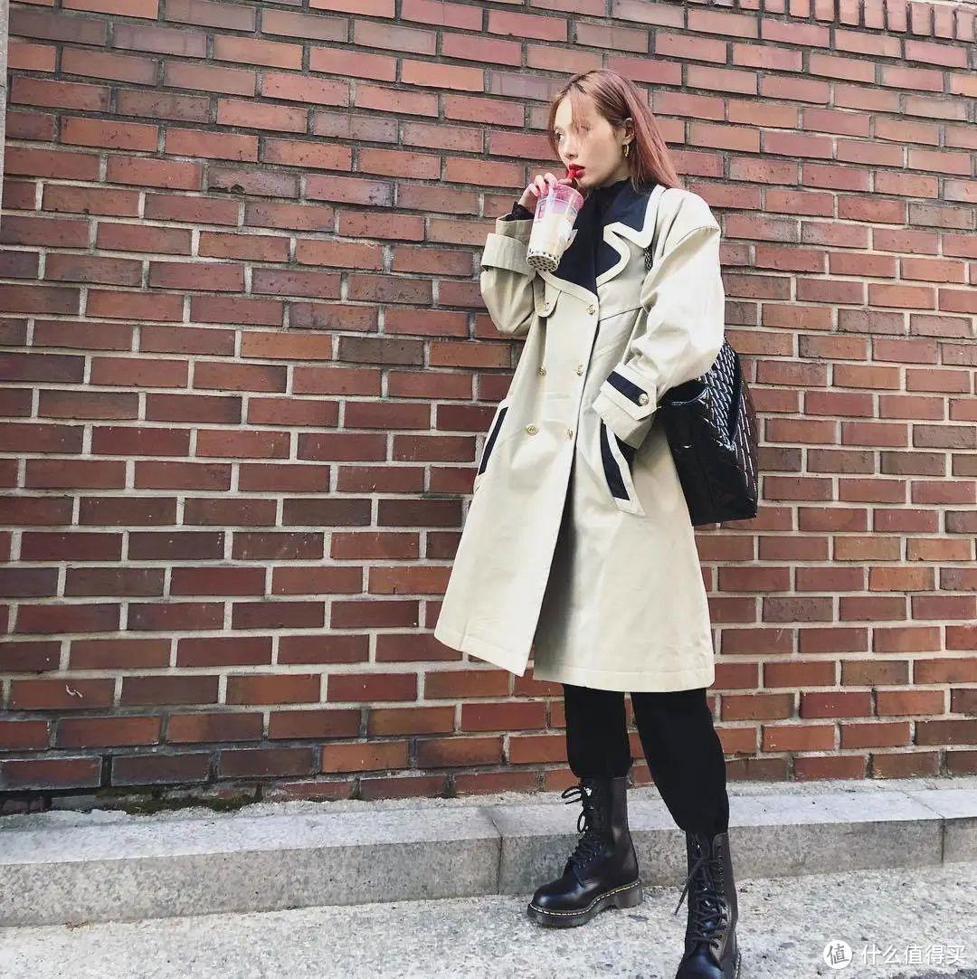 早春就穿马丁靴,够时髦、够个性,最重要的是显高又百搭!