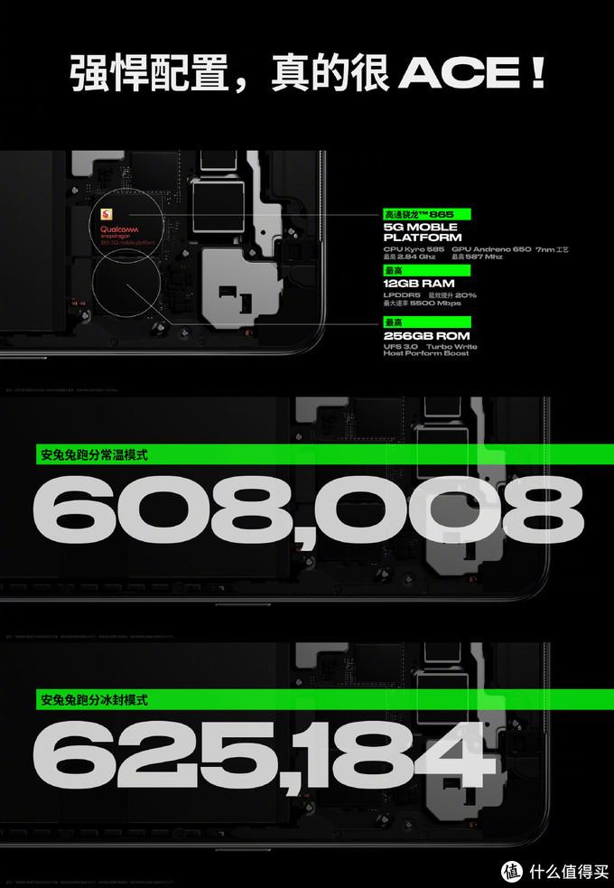 限时特惠400元还有24期免息,OPPO Ace 2 骁龙865 5G超级玩家手机 618大促价3599元起!