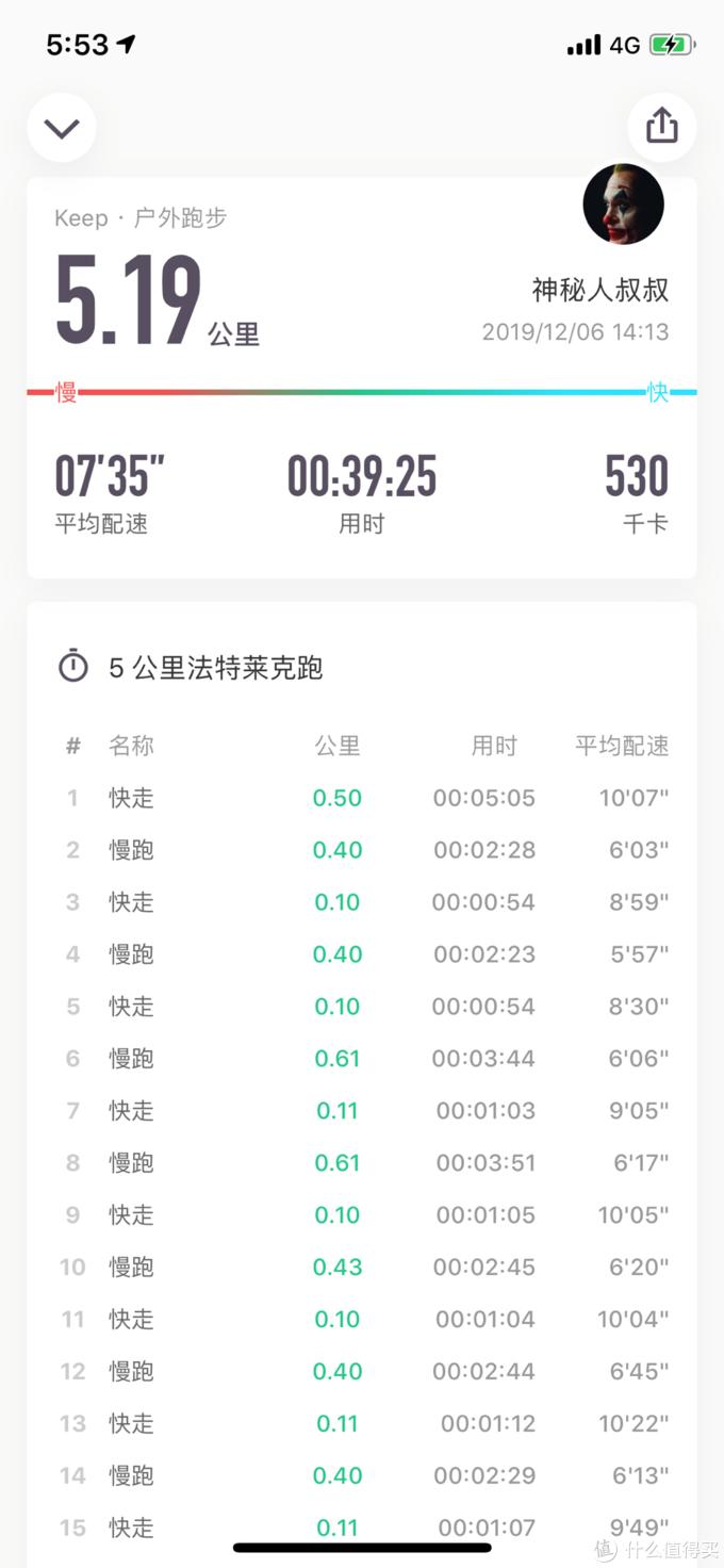 第一次跑步