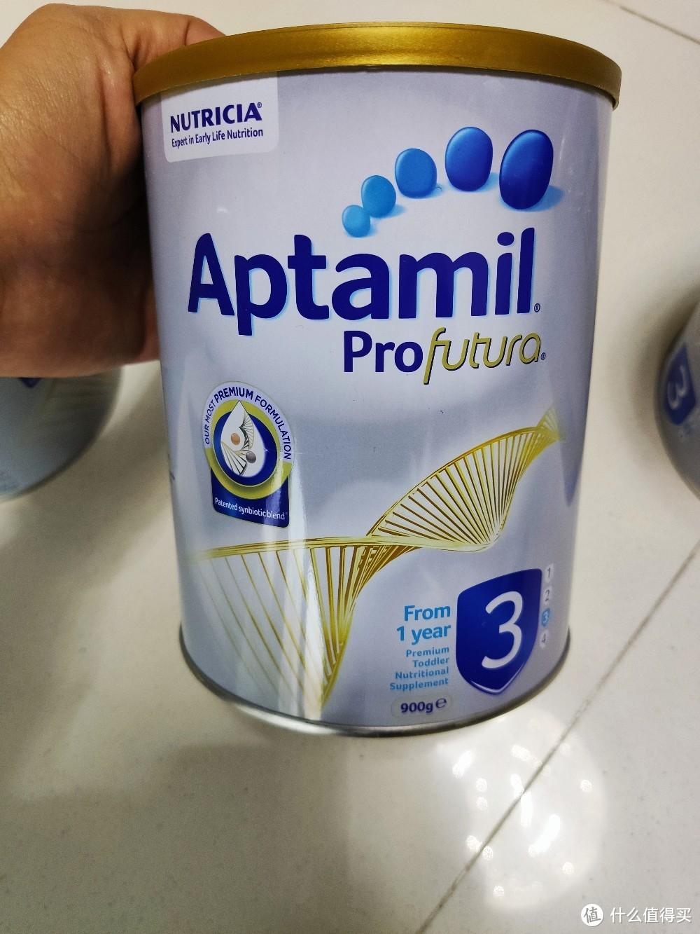 138元一罐的澳洲爱他美白金版婴幼儿奶粉3段 开箱