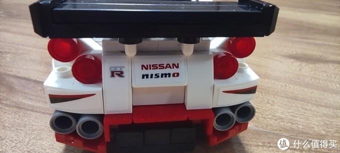 新版本SPEED八格小车 乐高 76896 日产GTR NISMO晒单