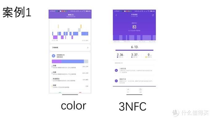 大号手环!Color和前辈3NFC对比