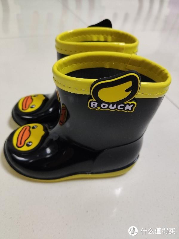21块9的B.Duck 小黄鸭 男女童雨靴 简单开箱