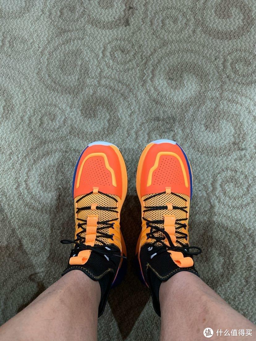 【开箱】ANTA安踏-龙珠超联名款-11941602R男款篮球鞋