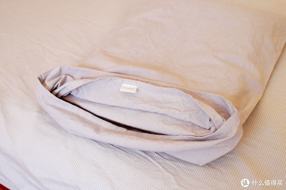 柔软舒适,出汗不沾身--大朴DAPU纯棉老粗布凉席三件套