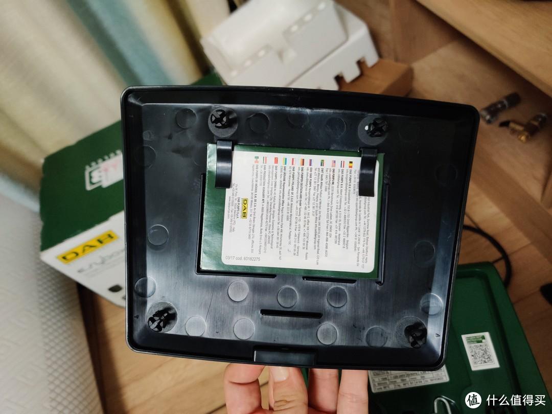 机器顶部改版背面的快速安装指南