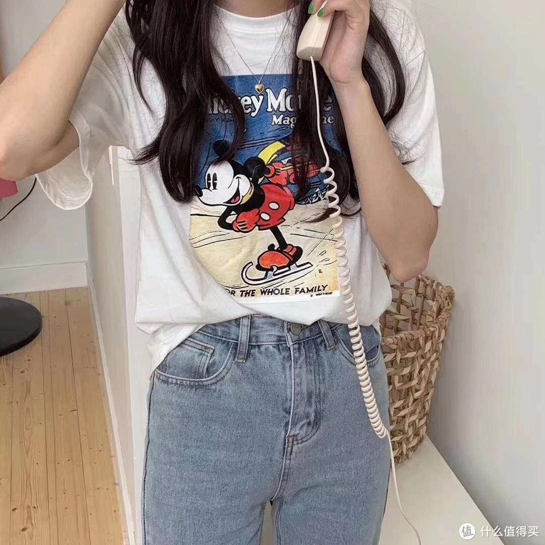 米奇卡通T恤