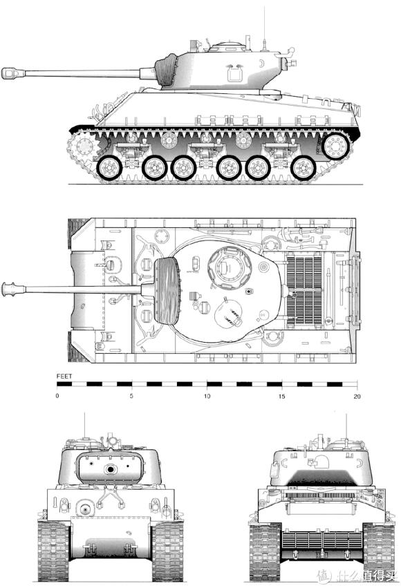 M4A3E8线图