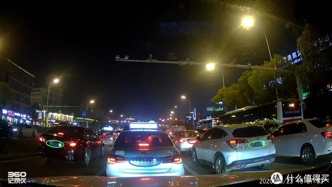 停车时夜间成像