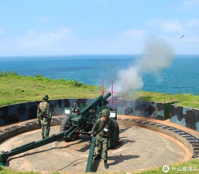 湾湾的M101正在刻苦操练