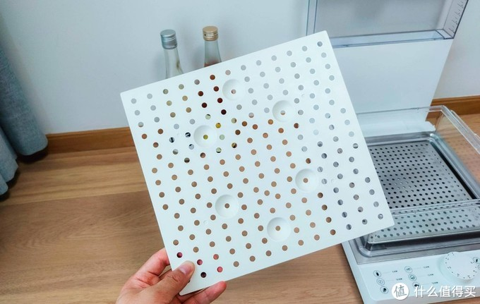全程看清食材加工过程,臻米电蒸箱体验:折叠设计