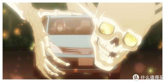 1月新番,动画片《虚构推理》里面出现的鬼怪形象。