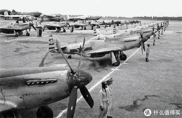 新中国空军的P51机队