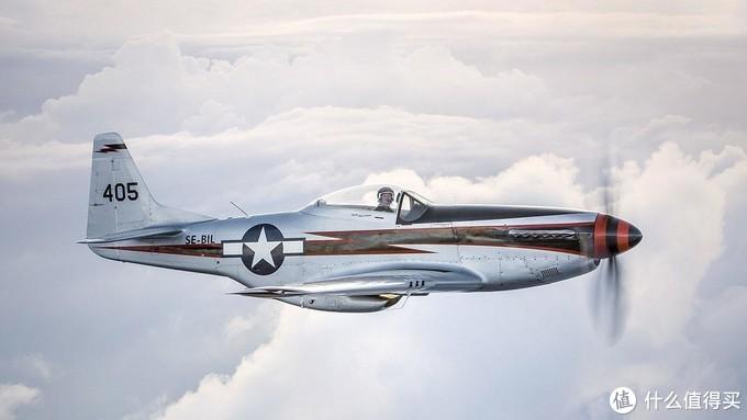 现在美国民间还有150架以上能飞的P51