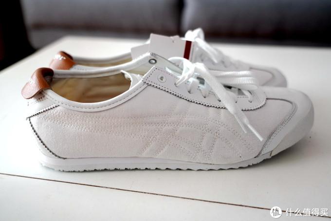 终于买到了一双COldish同款-鬼冢虎MEXICO 66休闲鞋上脚晒单