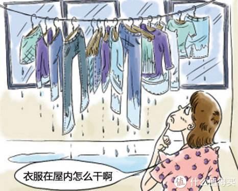 梅雨季节晒衣服难题