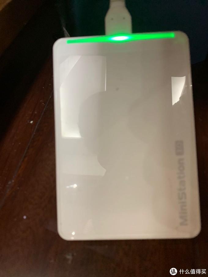 这是玩客云外拖的移动硬盘