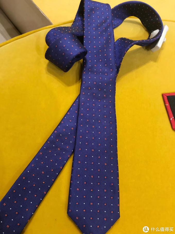 经典双F领带