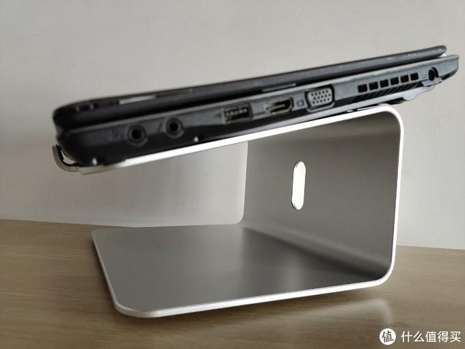 给小桌面减负?晒一下我的笔记本电脑铝合金支架