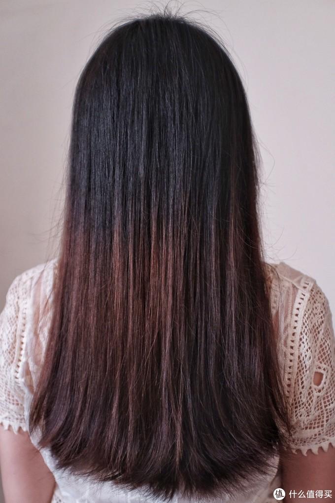 发量不多,细软发质,吹到八成干大约三分半。