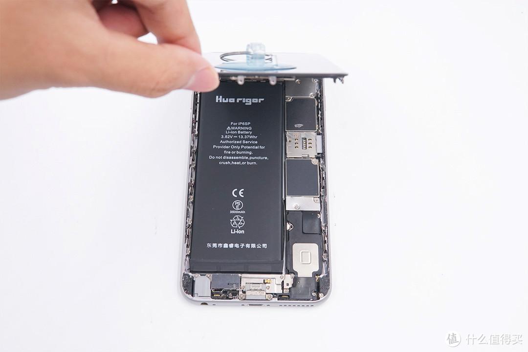 3500mAh超大容量,华严苛iPhone6S Plus电池评测